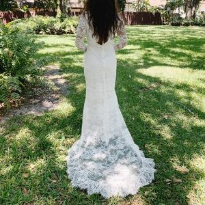 Vintage Bohemian Wedding Dress